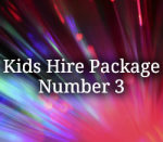 Kids Hire Package 3a (inc Single Slushie)