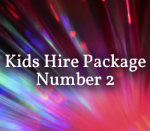 Kids Hire Package 2a (inc Single Slushie)